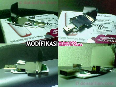 USB Modem Smartfren AC682 Agar tidak Panas