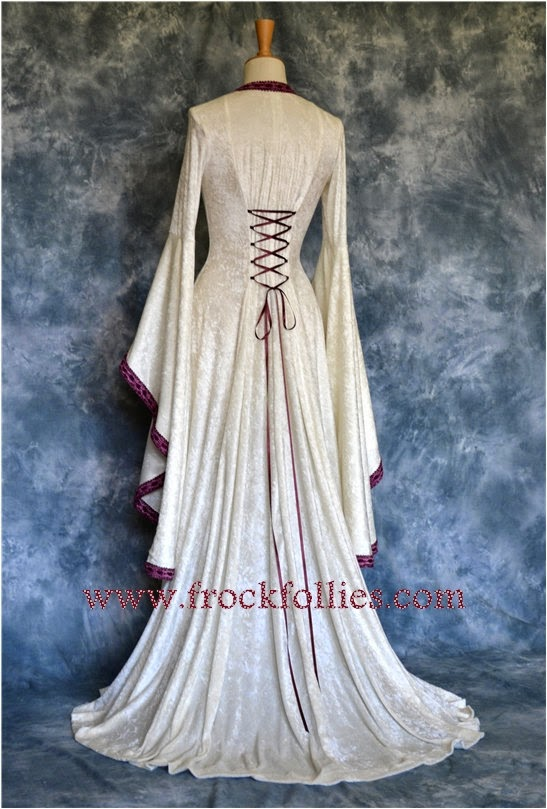 Mara Renaissance Gown - Affordable Wedding Dresses: Medieval
