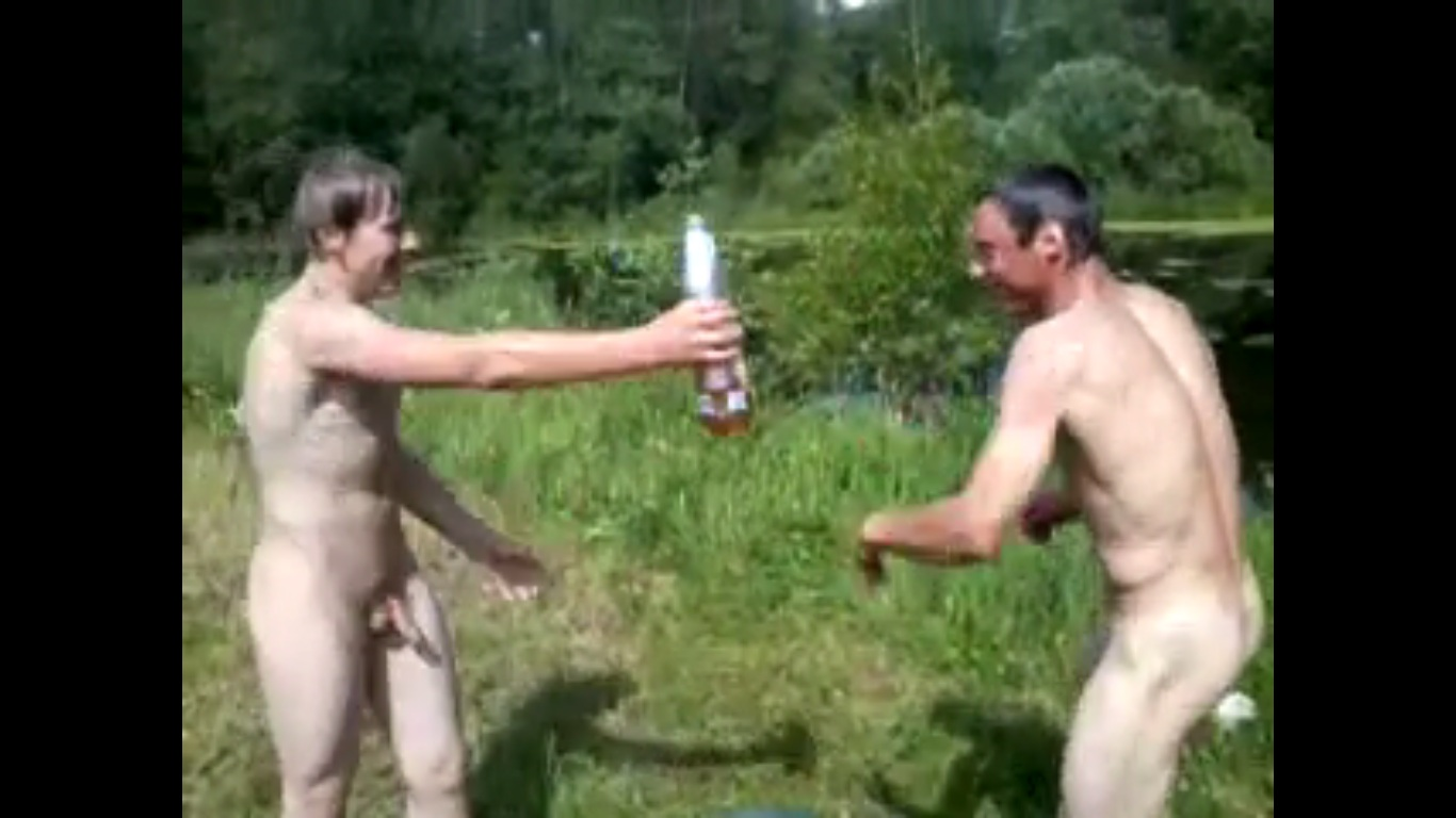 boys naked fight