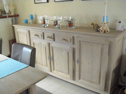 Blank eiken meubels schilderen parksidetraceapartments