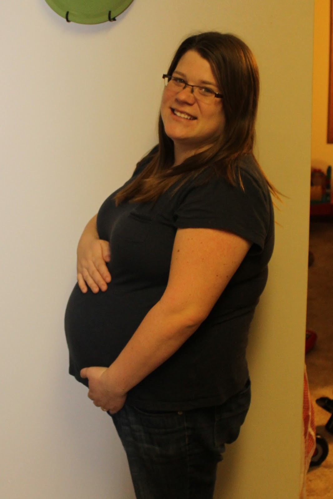 Months Pregnant Bump With the pregnancy and mp