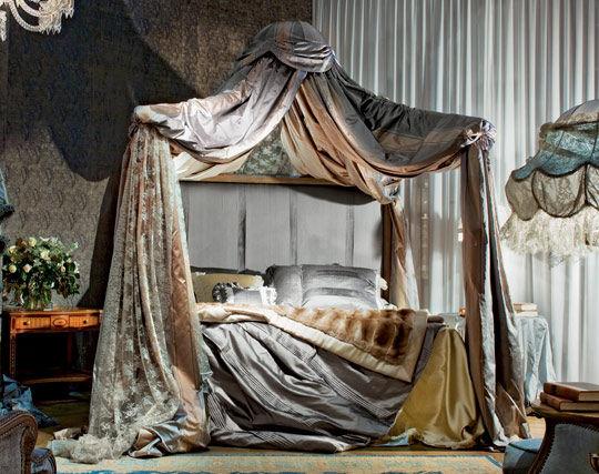 Boiserie c nuove camere da letto ispirate ai sogni - Camera da letto baldacchino ...