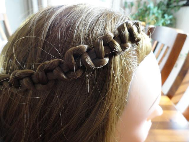 littlemonster snake braided hairstyle