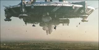 Nave espacial planeta gootan