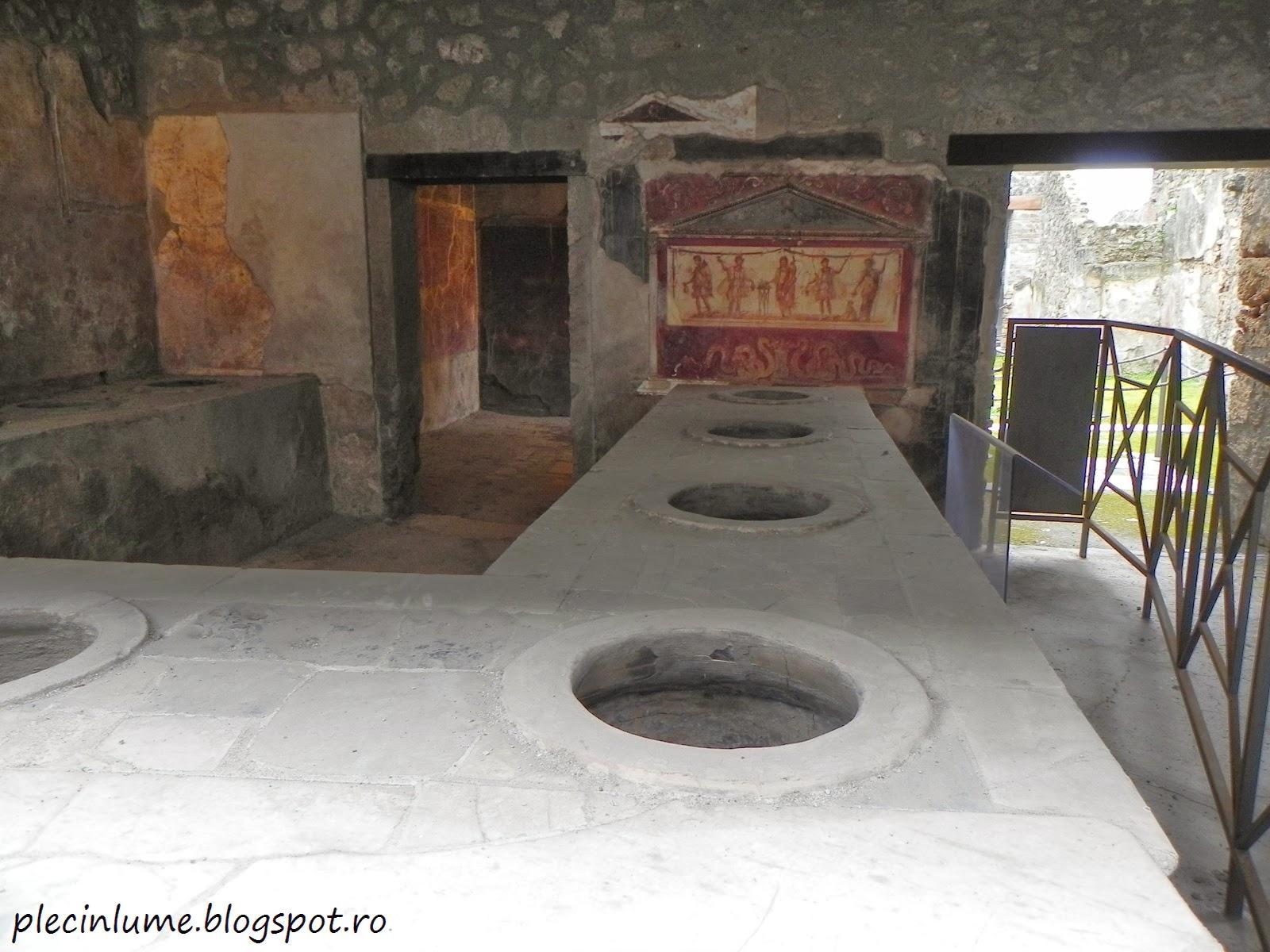 Bucatarie romana in Pompei