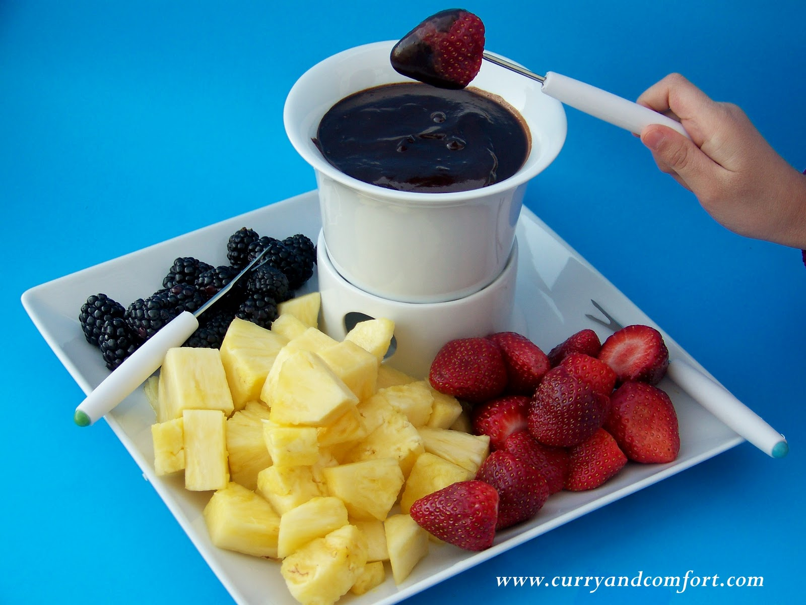Kitchen Simmer: Chocolate Fondue