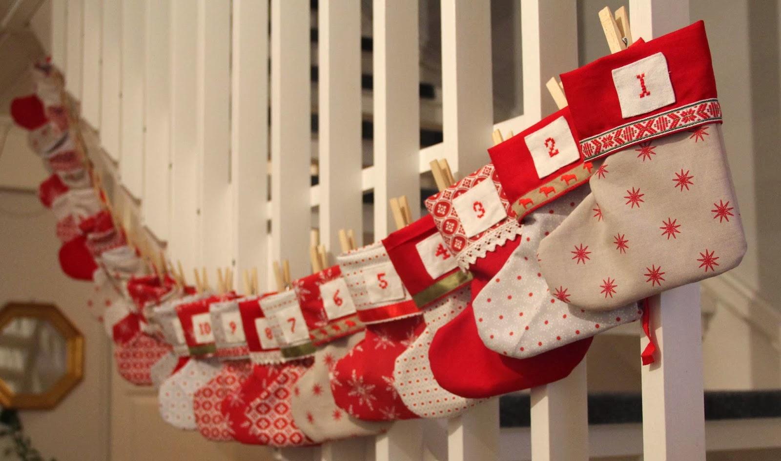 cristmas DIY gift kalendar
