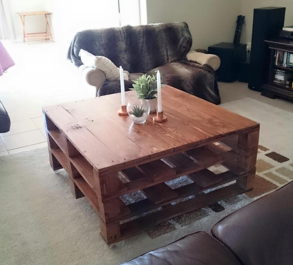 20 Diy Pallet Coffee Table Ideas Do It Yourself Ideas And Projects