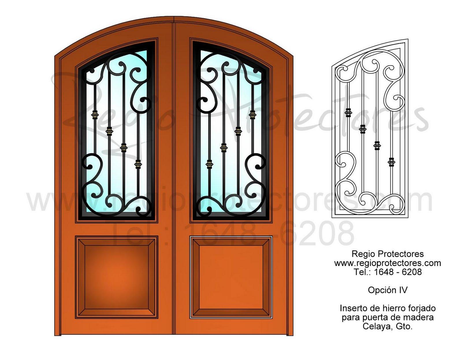 Regio protectores junio 2011 for Disenos de puertas de hierro