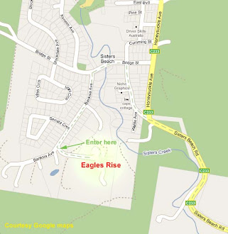 Directions to Eagles Rise Tasmania