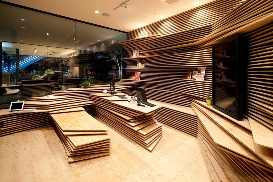 Awesome Multipurpose Room Design Ideas Part - 5: Multipurpose Creative Space In Tokyo By Kengo Kuma And Associates