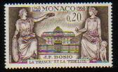 1968年モナコ公国 サルーキの切手
