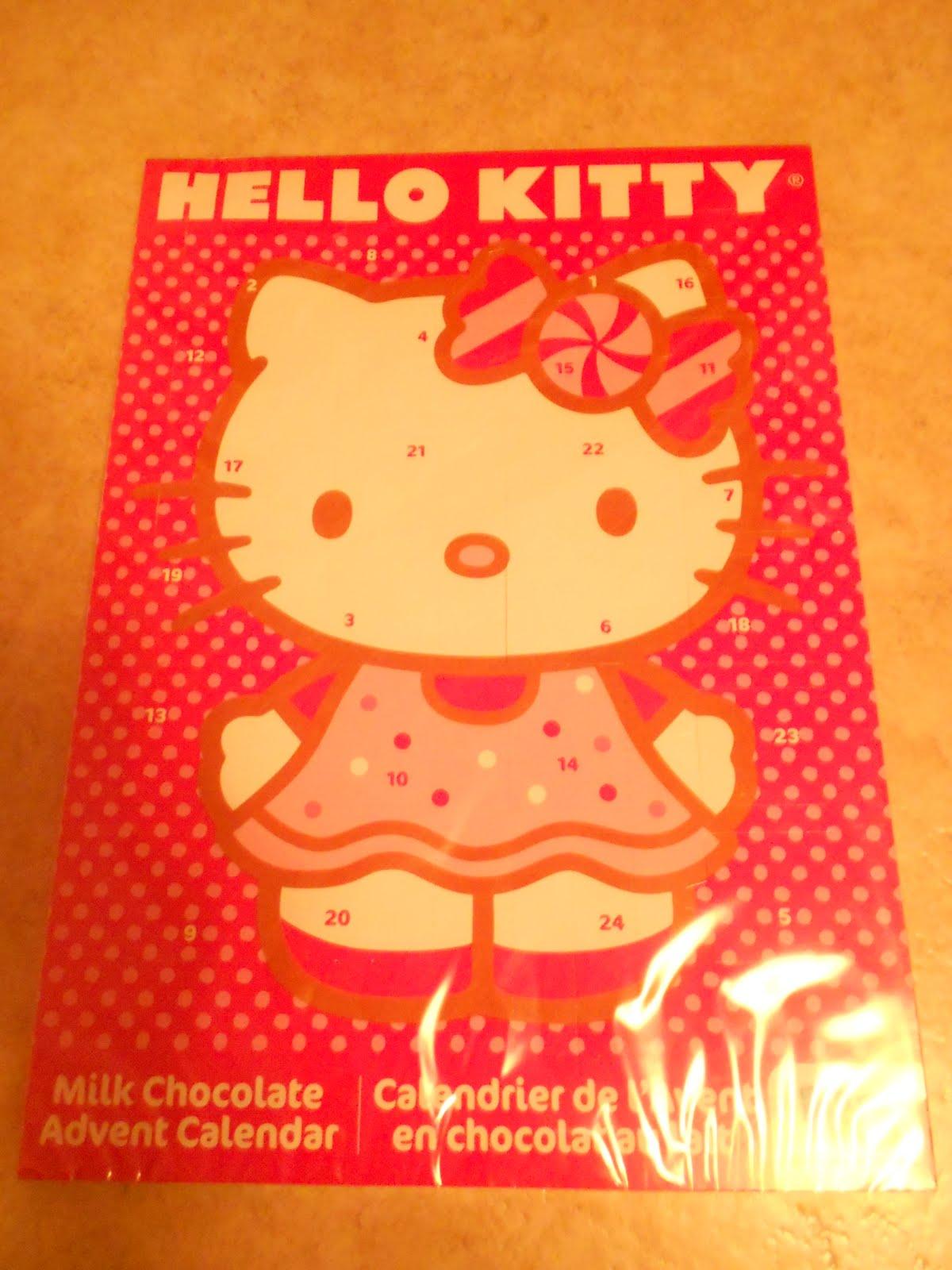 hello kitty chokladkalender