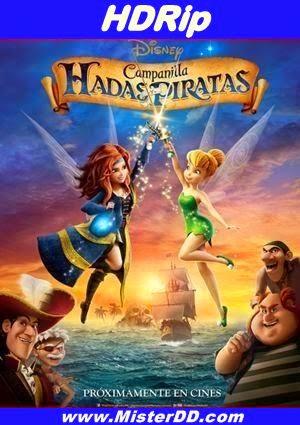 Campanilla, hadas y piratas (2014) [HDRip]