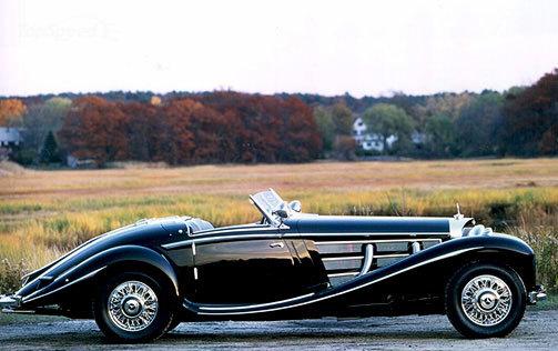 car i 1937 Mercedes Benz