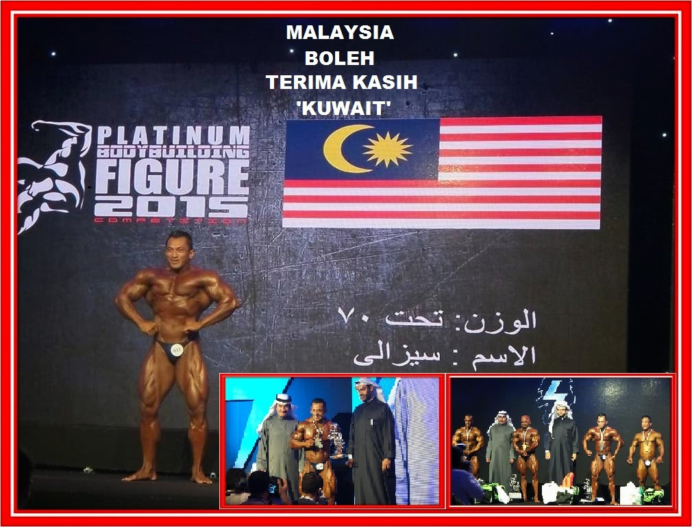 'MALAYSIA BOLEH' TERIMA KASIH KUWAIT 2015