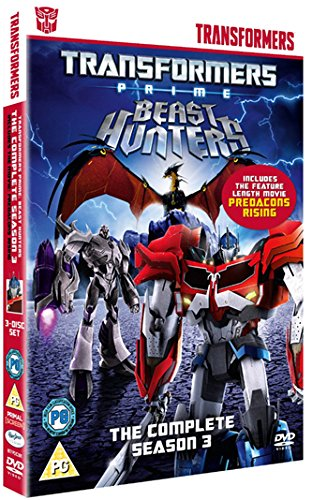 Transformers Prime – Beasthunters: The Complete Season Three Box Set on DVD - Review and Giveaway