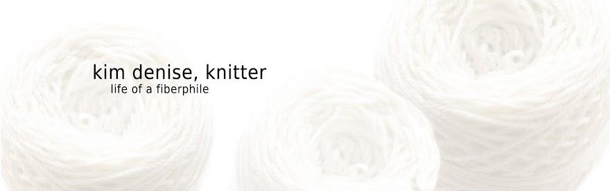 kim denise, knitter