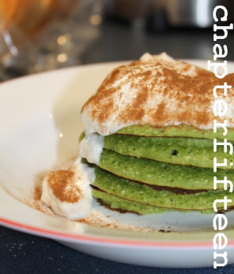 Green Power Pancakes!