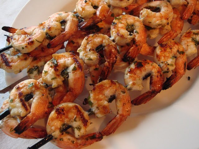 Our favorite shrimp marinade