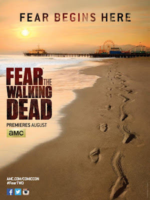 San Diego Comic-Con 2015 First Look: Fear The Walking Dead Teaser Television Poster