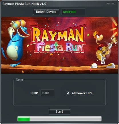 Rayman Fiesta Run Game Hack V1.0