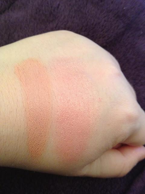 Nars Cream Blush Swatches