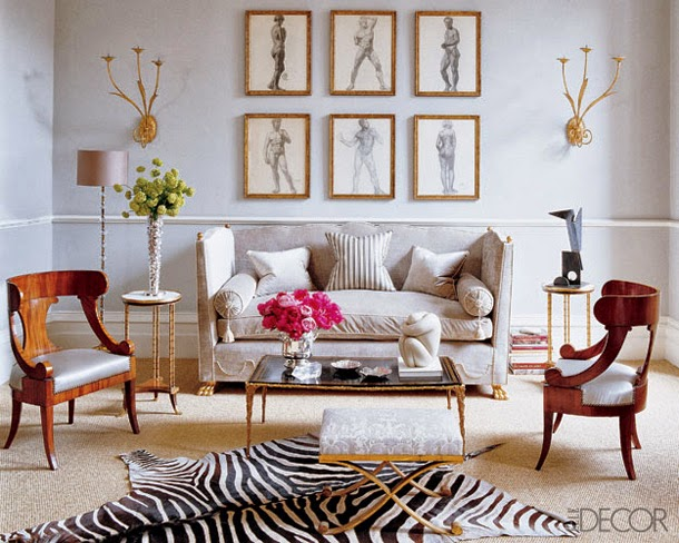 This Type Of Eclectic, Sophisticated Interior Feels Expensive While  Retaining A Sense Of Sensuality Thanks To The Zebra Rug.