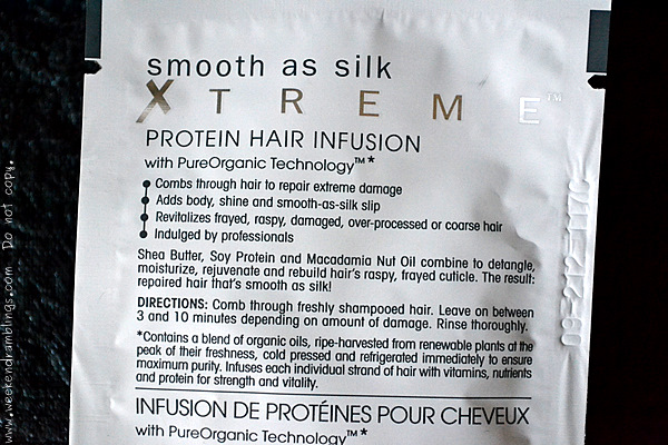 Giovanni Smooth as Silk Xtreme Protein Hair Infusion Dry Damaged haircare