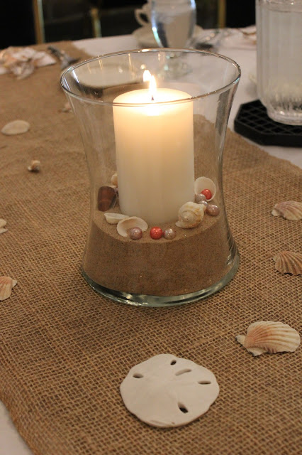 beach theme bridal shower