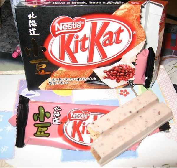 الكيت كات الياباني: بنكهات غريبة
