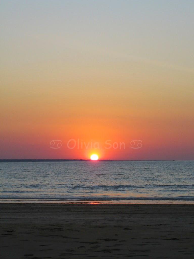 Sunset Mindil Beach, Darwin, Australie