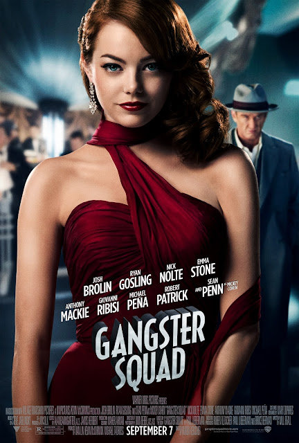 Gangster Squad 2013 Emma Stone Poster in HD