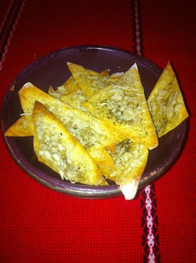 Chips de p te won ton fa on pizza ou comment utiliser un reste de p te won ton - Pate a bois comment l utiliser ...
