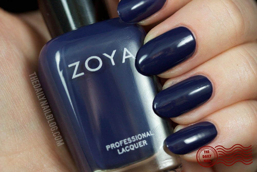 Zoya Cashmere Sailor Swatch Fall 2013 with bottle