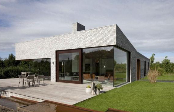 Minimalist villa simple design architecture z set for Simple minimalist house
