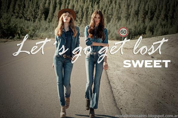 Sweet invierno 2014. Moda invierno 2014 Argentina.