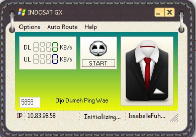 injek Indosat Update GX By Mbah