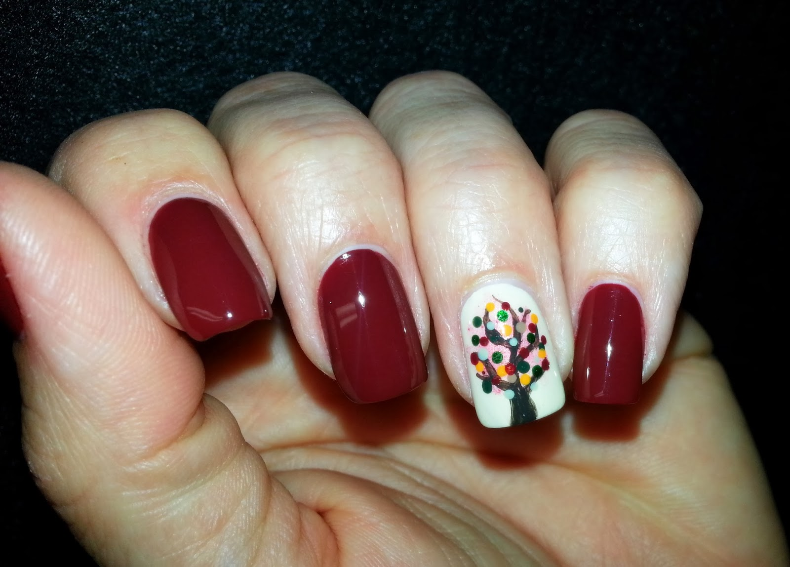 Nail Addicts Anonymous: Fall Mani No. 1: A little Pepper