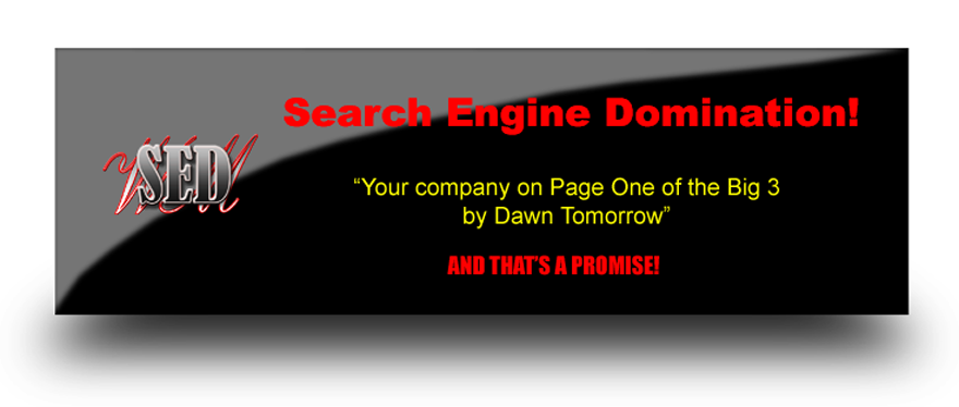 Search Engine Domination!