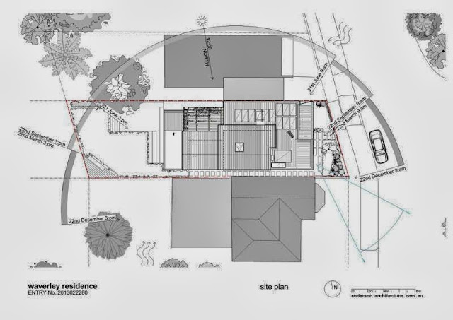 modern home with passive energy design