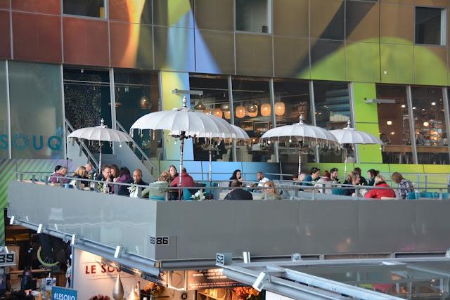 Markthal Rotterdam terrace