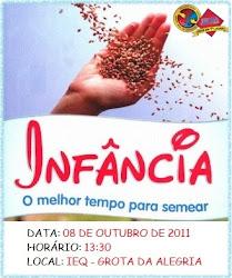 ANIVERSÁRIO DO GMC E GMJr DA IEQ GROTA DA ALEGRIA