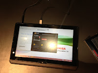 Toshiba Tablet without keyboard