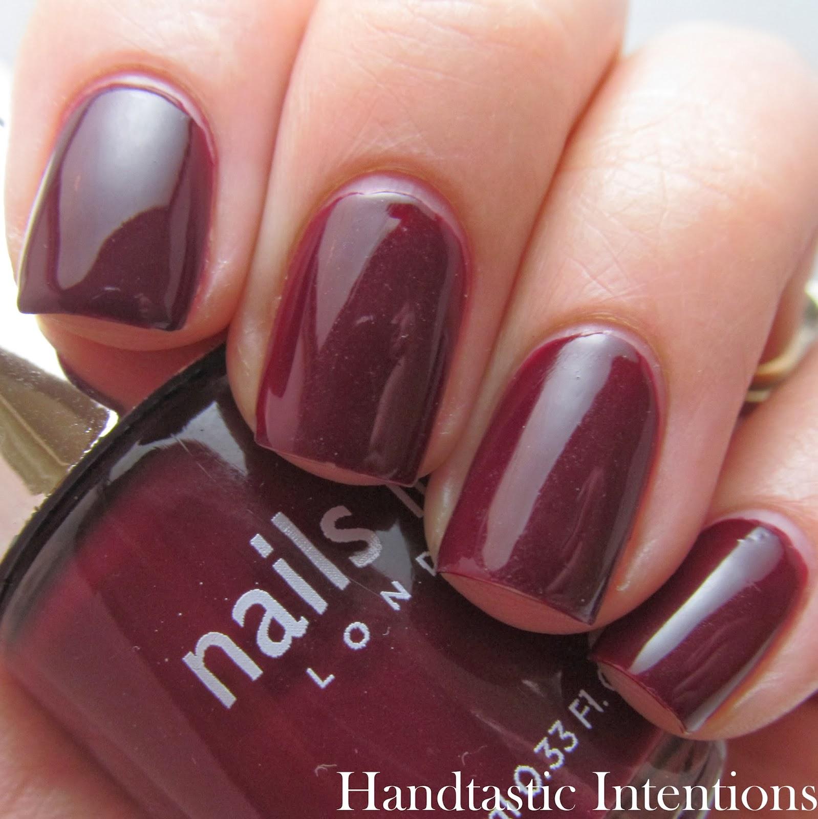 Nail Polish Nails Inc Sephora Handtastic Intentions Swatch