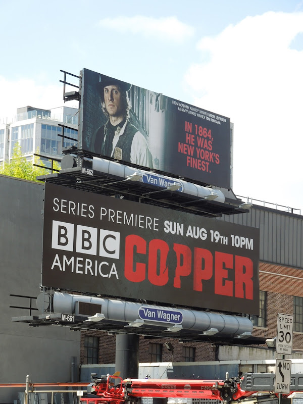 BBC Copper billboard NYC
