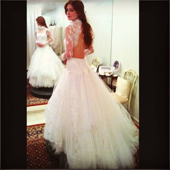 Vestido de Noiva de Nicole de Amor à Vida