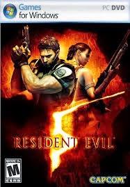 Resident Evil 5 Full Crack Handal logo cover by jembercbyer