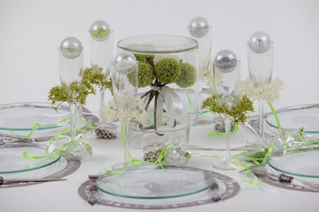 Id et photo d coration mariage decoration table mariage - Deco de table original ...
