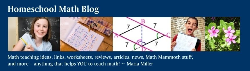Homeschool Math Blog